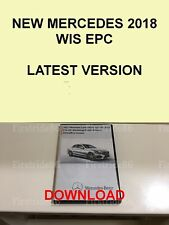 New 2018 Mercedes WIS ASRA & EPC Dealer Service Repair Workshop Manual
