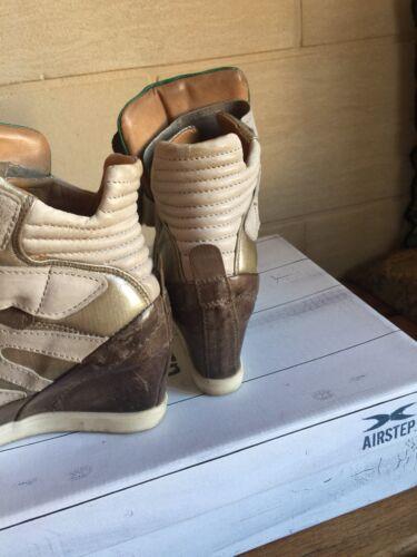 Compensées Clous Cuir Bronze Marant Taille 37 Airstep 98 Doré As Baskets Vert Sxdq7wgS
