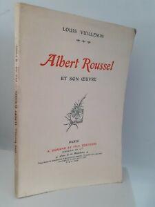 Albert Roussel Y Son Maestra L. Vuillemein A. Durand París Pin 1924 Impresión