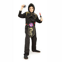 Brotherhood Of The Dragon Ninja Action Belt Costume Accessory Prop Rubies 6671