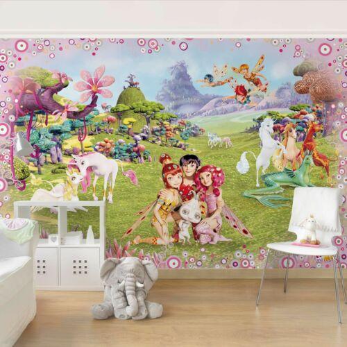 Kindertapete Vlies Tapete XXL Poster Mia and Me Mia´s magische Welt Foto Tapete