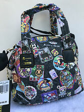 New $198 Tokidoki for Lesportsac Giramondo Pargina Nylon Crossbody Bag