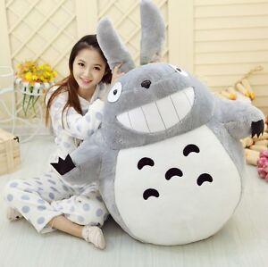 Studio-Ghibli-My-Neighbor-Totoro-Grin-Totoro-Plush-Soft-Doll-Toy-Chubby-Kid-Gift