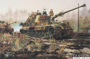 Details about WW2 Military art post card, German King Tiger Tank Schwere  Panzer Abteilung 511