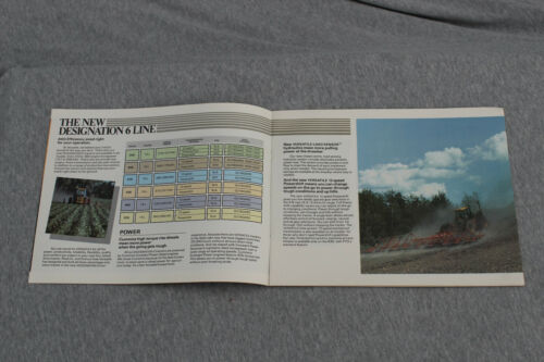 Versatile Designation 6 4WD tractor original sales brochure #BR-D6103-84