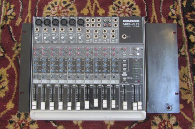 Line Mixer Console Mackie 1402-VLZ3 14-Channel Premium Mic