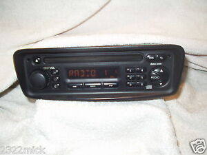 peugeot 206 radio cd player by clarion pu 2325a b with security code ebay. Black Bedroom Furniture Sets. Home Design Ideas