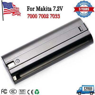 Batterie Ni-MH 7.2V 3000mA pour MAKITA 7000 7002 7033 632003-4 192695-4 191679-9