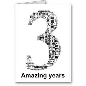Personalised-Printed-Typographic-Third-3rd-Anniversary-Card-Gift-Male-Female