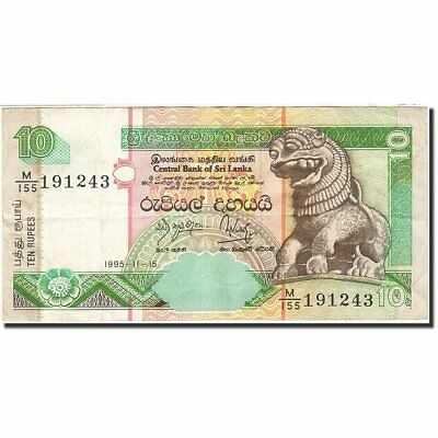 Sri Lanka #268602 1995-11-15 1995 Km:108a An Indispensable Sovereign Remedy For Home Ef 10 Rupees 40-45