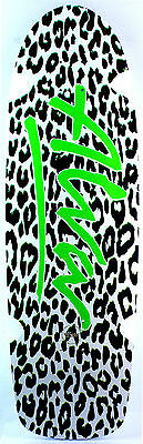 ALVA Leopard White Green Leopard-Re-Issue Deck