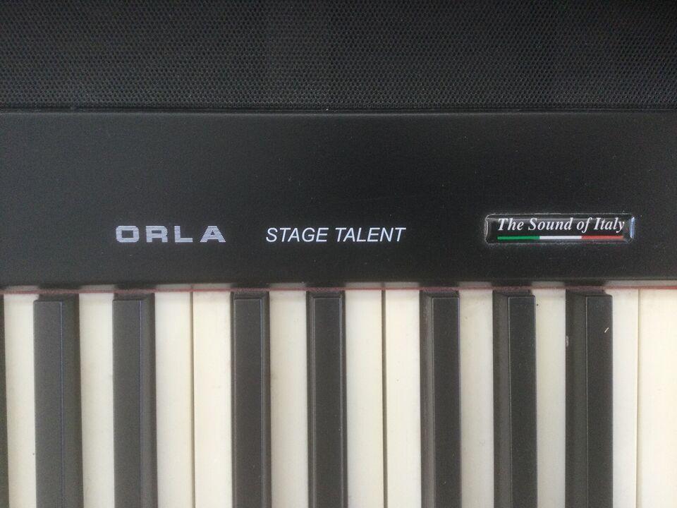 Elklaver, Orla Stage Talent
