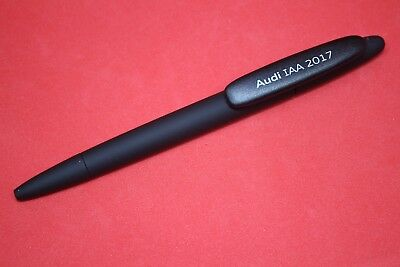 Audi bolígrafo Ballpoint pen negro-Prodir swiss made-original 2016