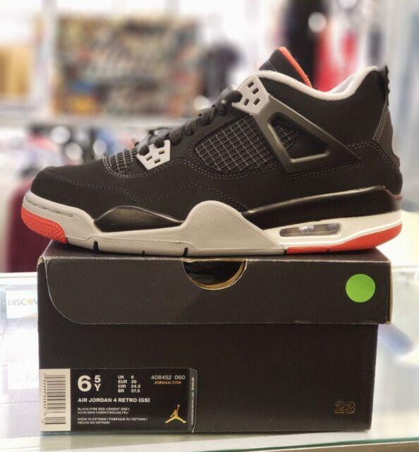 Nike Air Jordan 4 IV Retro Bred GS
