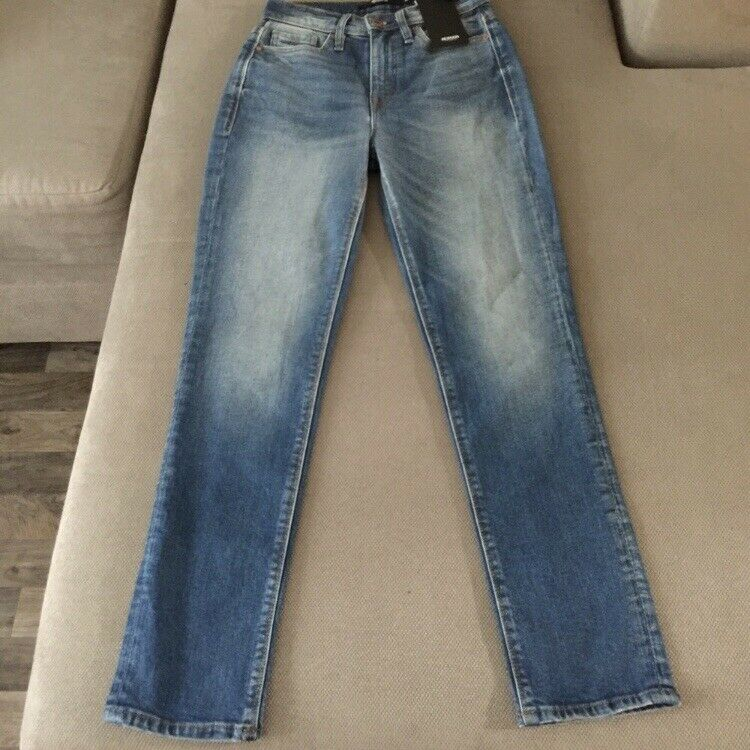 Hudson Jeans Zoeey High Rise Straight Crop Size 25 Woman High Waisted New NWT