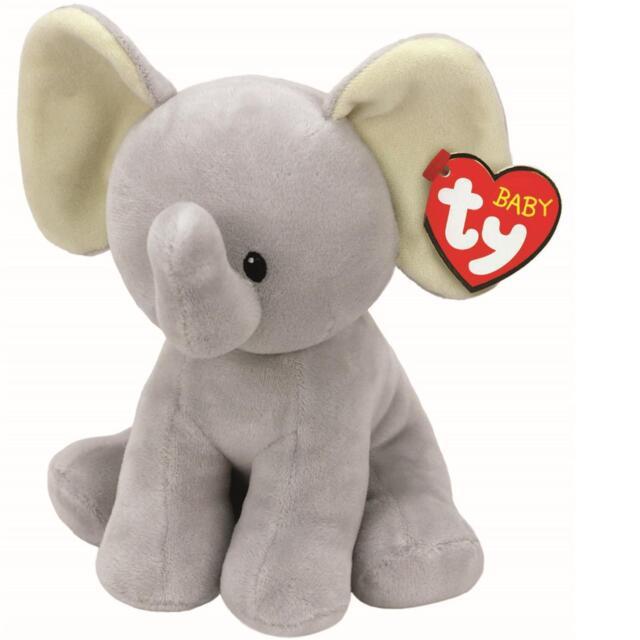 7b5558342c1 Ty Beanie Boo Baby Bubbles Elephant - 6 Inch Boos Plush Teddy Soft ...