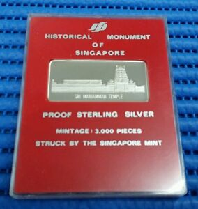 Sri-Mariamman-Temple-Historical-Monument-of-Singapore-Proof-Sterling-Silver