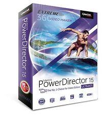 CyberLink PowerDirector 15 Ultimate - Creative Movie Making (PC) PC Disc