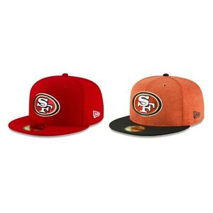 San-Francisco-49ers-SF-NFL-Authentic-New-Era-59FIFTY-Fitted-Cap-5950-Hat