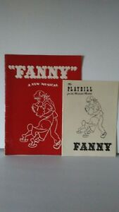 1955-The-Playbill-For-The-Majestic-Theater-034-Fanny-034-and-Red-program