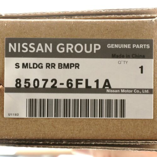 Oem Nova Genuine Nissan Cromado Para-choques moldagem 2017-2019 Nissan Rogue 85072-6FL1A