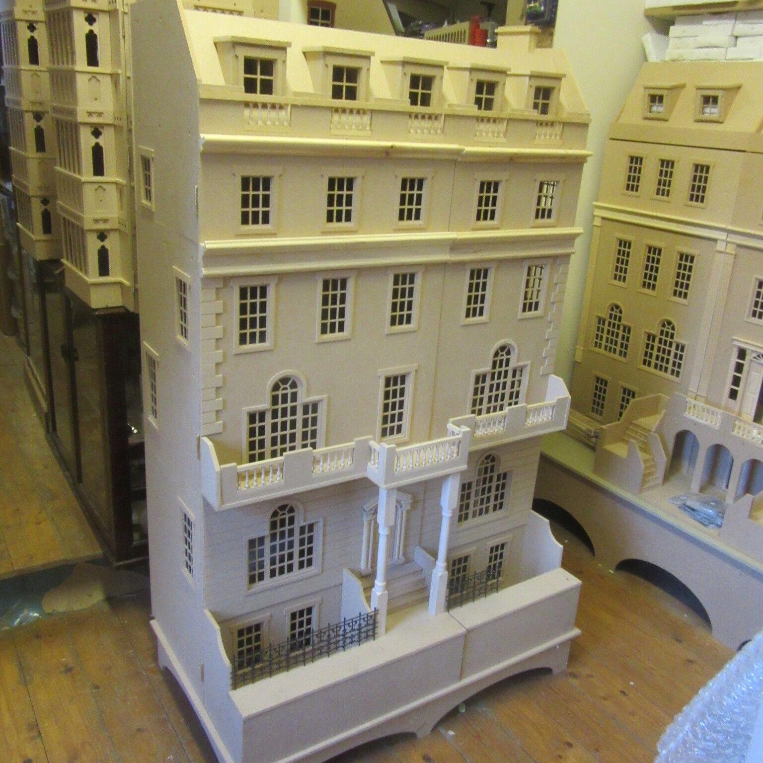 Maison de poupées 12th échelle échelle échelle le Strand Regency town house en kit DHD 15-031 642f68