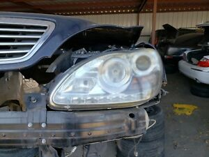 Details About 1999 2000 2001 2002 Mercedes Benz S430 S500 S600 Left Driver Headlight