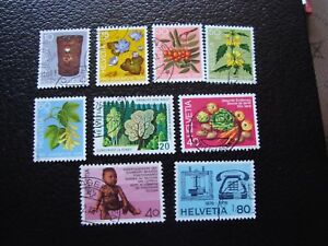 Switzerland-Stamp-Yvert-and-Tellier-N-994-A-1002-Obl-A2-Z