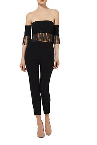 NEW-Misha-Collection-Lyndara-Pantsuit-Black