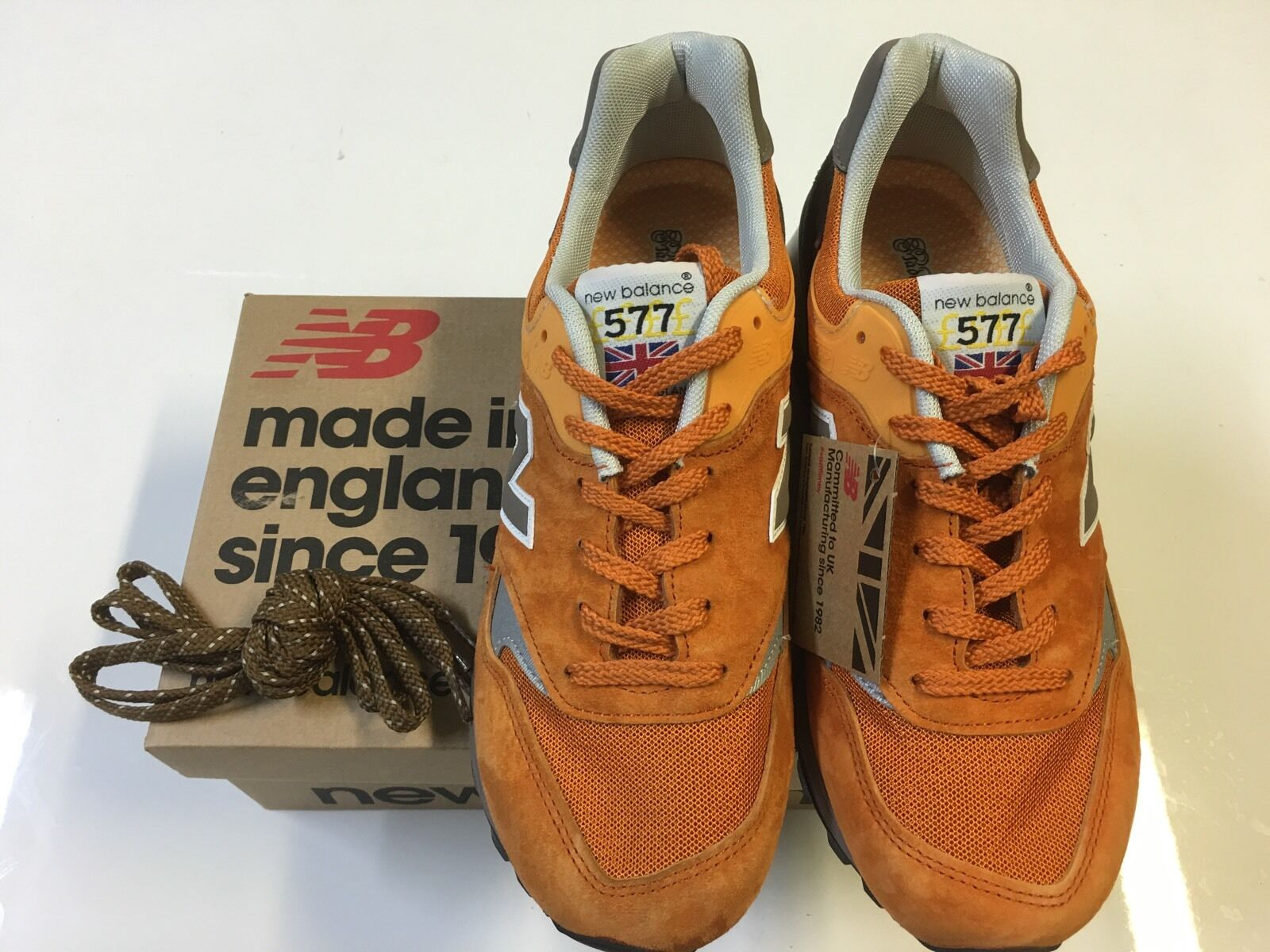 New Balance 577 ETO 'ENGLISH TENDER' MADE IN U.K New in Box  U.S 8/U.K 7.5