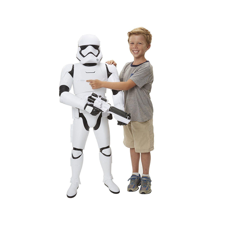Star - wars - erster ordnung stormtrooper 48  in die höhe, kamerad gespräche 4 meter groß
