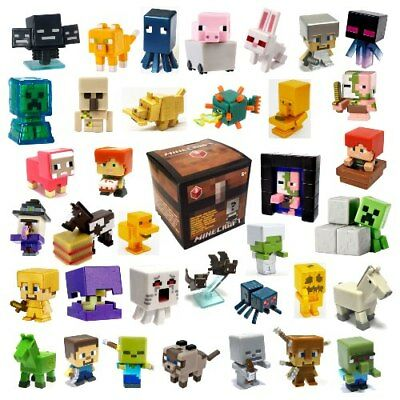 """☆SALE☆ ~ 1/"""" MINECRAFT Minifigures END STONE SERIES 6 ■YOUR CHOICE■ Mojang//Mattel"""