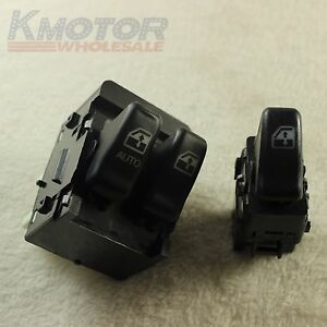 Window switch power front pair kit set of 2 for olds for 2000 chevy venture power window switch