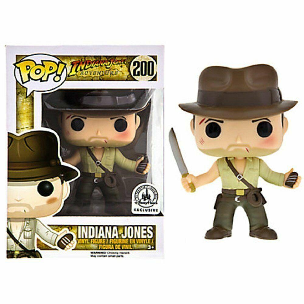 RARE Indiana Jones Funko POP Vinyl NY i Mint låda Prödector