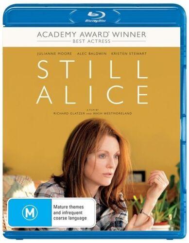 1 of 1 - Still Alice (Blu-ray, 2015) Julianne Moore *New & Sealed* Region B Australia