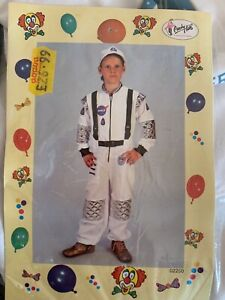 Astronaut-Flight-Commander-Costume-Fancy-Party-Suit-children-039-s-height-152cm