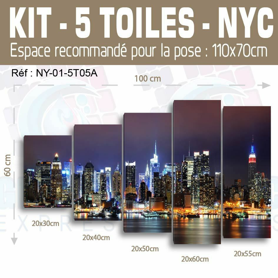 80x75cm- Kit Kit Kit 3 Pinturas Estampado Cuadro Tela Decoración- d82767