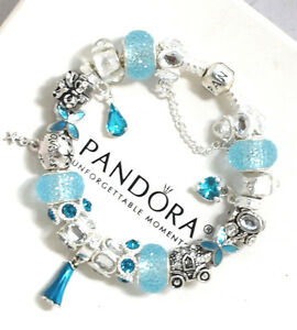 Image Is Loading Authentic Pandora Bracelet 925 Silver Disney Theme Frozen