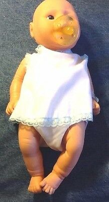 Apprehensive Vintage New In Box/rare With Original Papers~anatomically Correct Baby Boy Doll Dolls & Bears