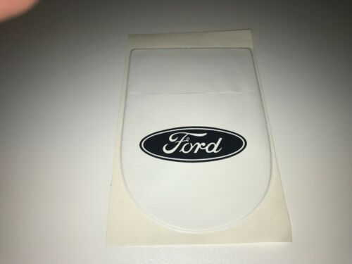 One permit holder in white plastic with white print suitable for  ford