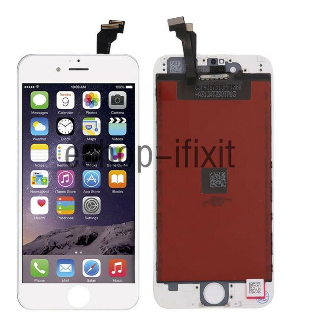 VITRE TACTILE + ECRAN LCD RETINA SUR CHASSIS POUR IPHONE 6 BLANC Remplacement
