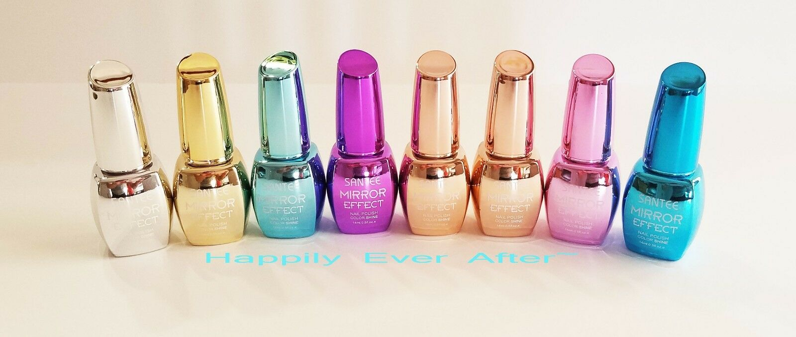 Extra Shine Metallic Mirror Effect Nail Polish Santee - All 8 Colors ...