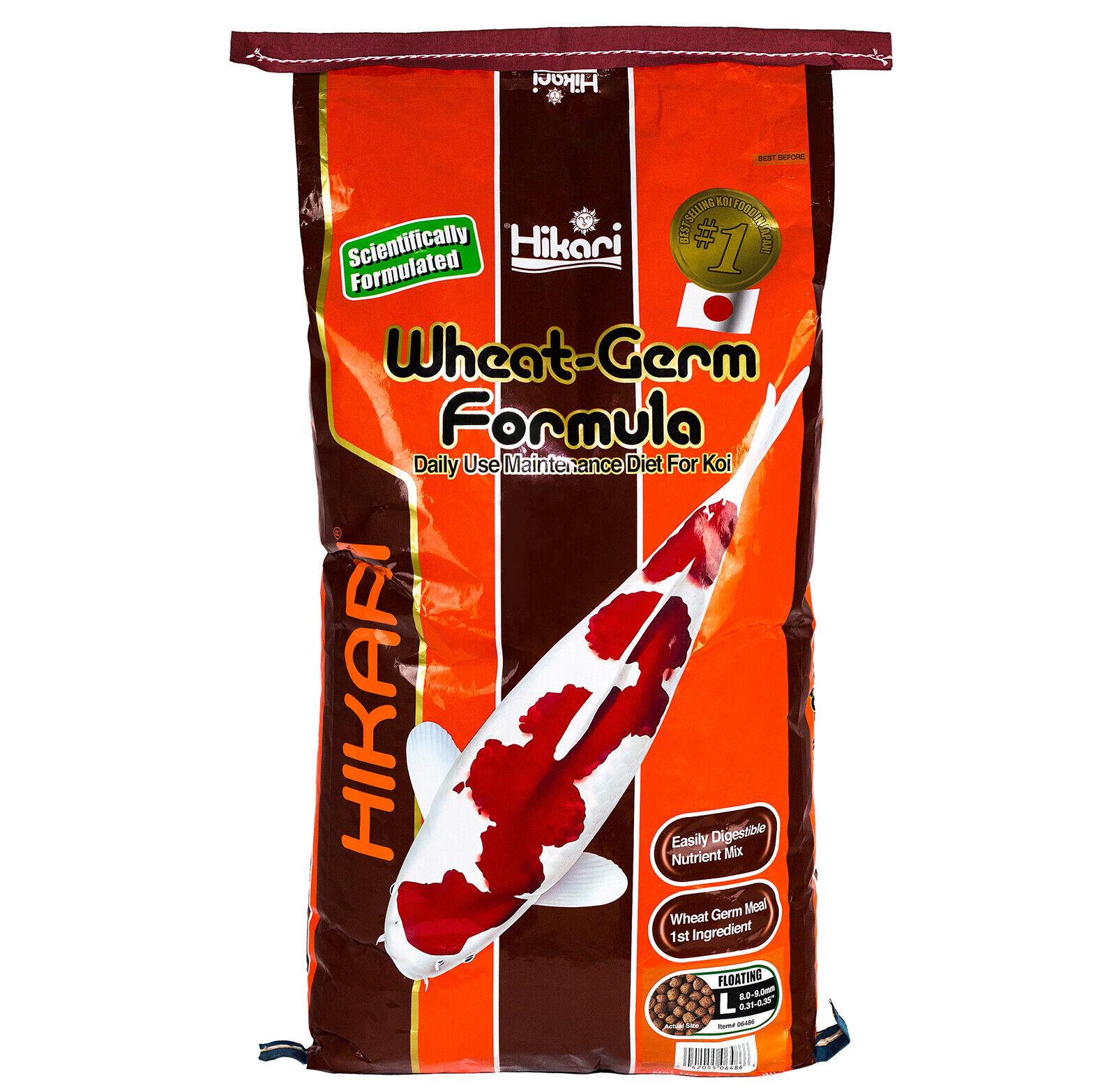 Hikari Winterfutter 10 kg Koi Wheat Germ leichtverdaulich L Größe