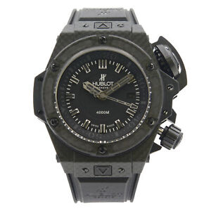 Hublot King Power Oceanographic Carbon Fiber Titanium LTD Edition 731.QX.1140.RX
