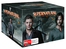 SUPERNATURAL COMPLETE SEASON 1 2 3 4 5 6 7 8 & 9 DVD BOX SET R4 1 - 9 New Sealed