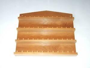 48pc-Wooden-Thimble-Display-Rack-Pine-huge-range-see-listing