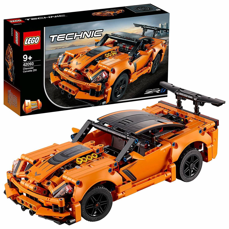 LEGO Technic Chevrolet Corvette ZR1 579 Pcs Building Kit 2 In 1 Supercar Hot Rod