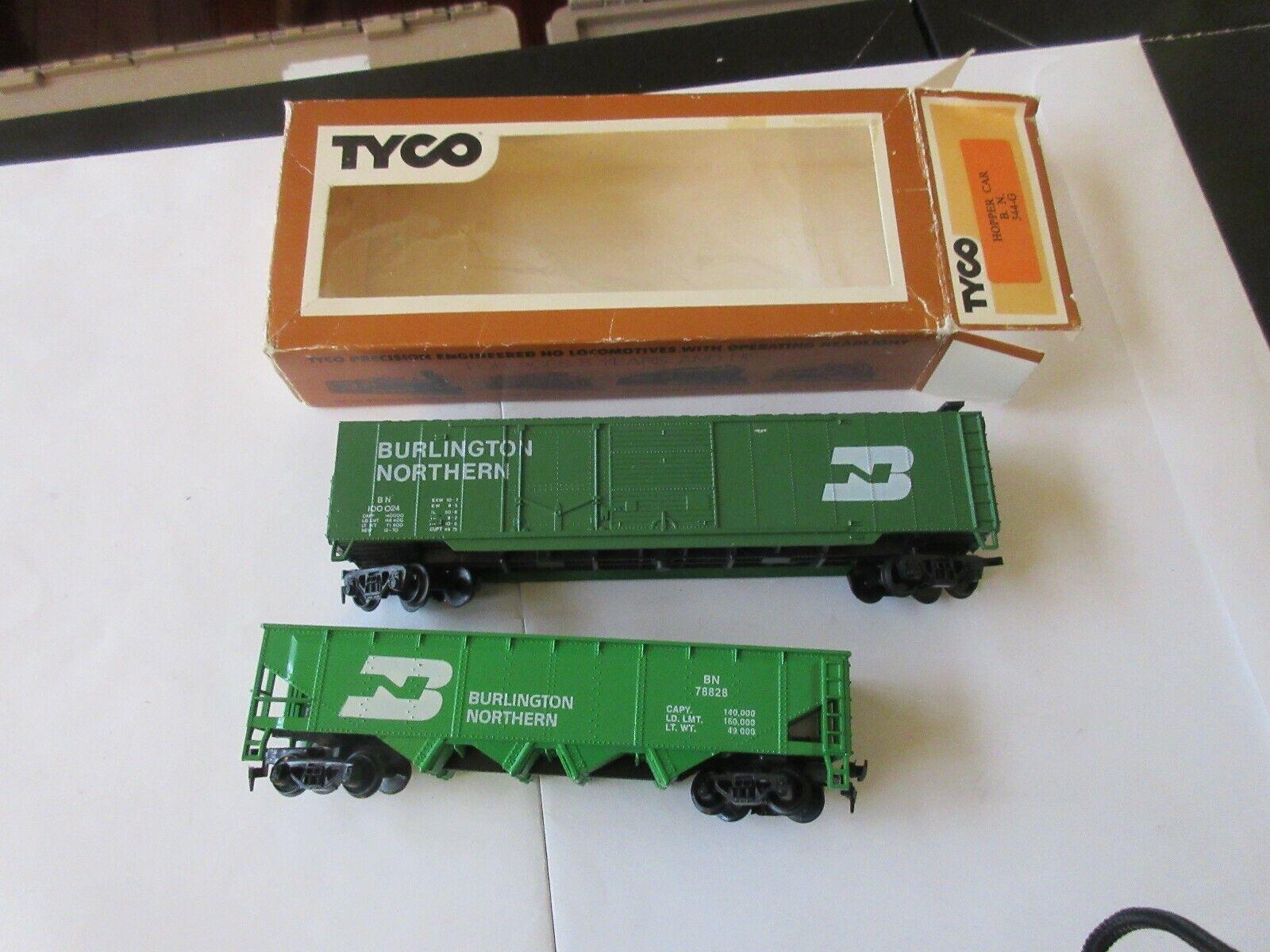 TYCO , Burlington Northern , Hopper Car #78828 , Box Ca