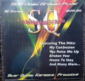 JOSH GROBIN KARAOKE CDG STAR QUEST SQ6 16 SONGS CD+G YOU
