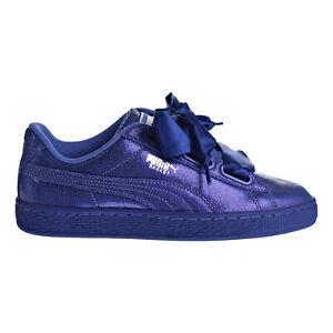PUMA Women's Basket Heart Denim Casual Sneakers From Finish